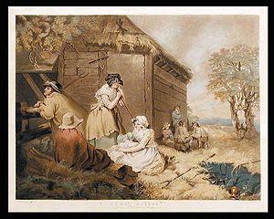 William Ward (engraver) - Hay Makers (1793)