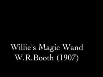 Fichier:Willie's Magic Wand (1907).webm