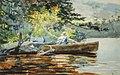 Winslow Homer - A Good One, Adirondacks (1889).jpg