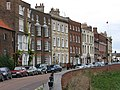 Wisbech - Georgian terrace on North Brink (geograph 2653656).jpg
