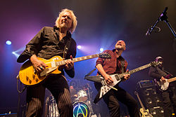 Wishbone Ash live in Madrid, 2015