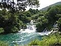 Wodospad rzeki Krki.JPG