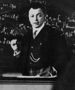 Wolfgang Pauli young