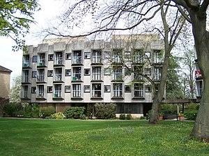 St Anne's College, Oxford - Wolfson Building