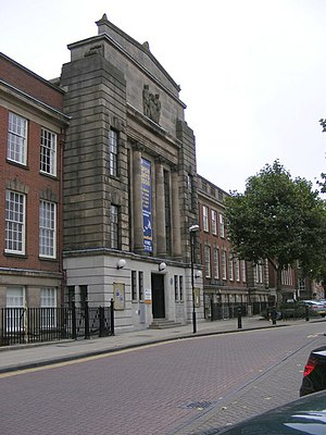 University of Wolverhampton - Wolverhampton and Staffordshire Technical College, now the University of Wolverhampton