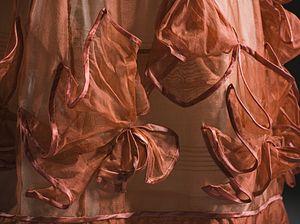 Crêpe (textile) - Detail of an aerophane dress, c.1827