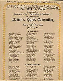 Seneca Falls Convention First American womens rights convention