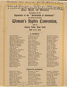 elizabeth cady stanton declaration of sentiments and resolutions essay