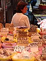 Woman Vendor with Wares in Market - Gyumri - Armenia (18644331203) (2).jpg