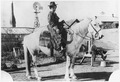 Woman on horseback - NARA - 285620.tif
