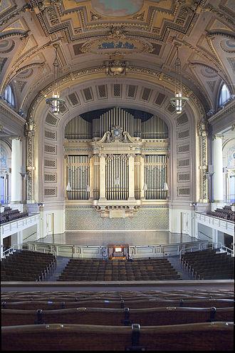 Woolsey Hall - Woolsey Hall, Yale University
