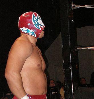 Sin Cara - Arias as Incognito at Chikara's 2008 King of Trios tournament