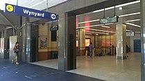 Wynyard railway station, February 2015.JPG
