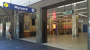 Wynyard railway station, February 2015.JPG