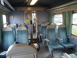 SNCF Class X 2100 - Image: X 2111 Intérieur Gare de Lannion