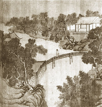 Humble Administrator's Garden - Sketch of the garden by Wen Zhengming