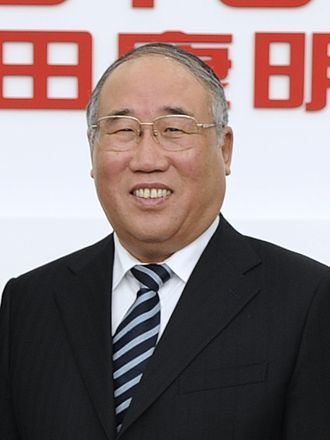 Xie Zhenhua (politician) - Xie in February 2014