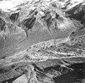 Yanert Glacier, valley glacier with a rock covered terminus, September 3, 1970 (GLACIERS 5121).jpg