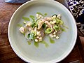 Yellow fin tuna crudo at Mosconi Restaurant, Fortiude Valley, Queensland.jpg