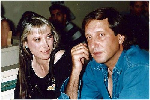 מיקה ויגאל בשן ב-1991.