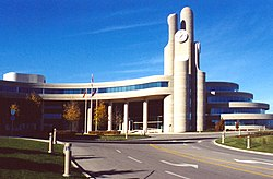 The York Region Administrative Centre in Newmarket