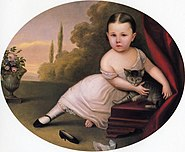 Young Girl with Cat 1867