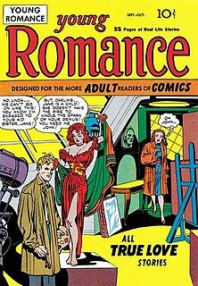 <i>Young Romance</i> 1947 American romance comic book