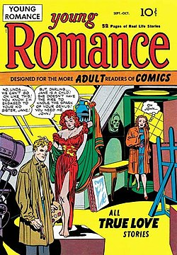 Young Romance #1 (Oct. 1947) launched the genre.