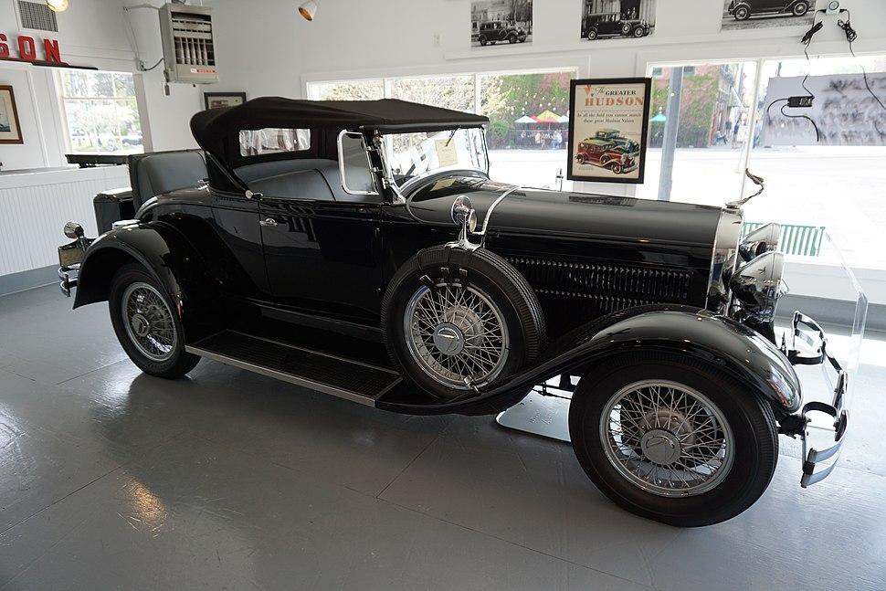 Ypsilanti Automotive Heritage Museum May 2015 009 (1929 Hudson Roadster)