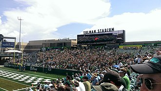 Tulane Green Wave football - Yulman Stadium Student Section
