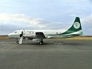 Air Chathams Airline from the Chatham Islands