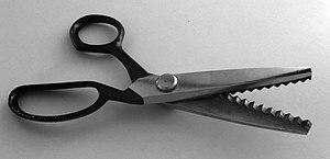 pinking shears