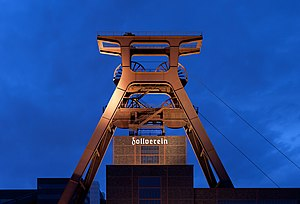 Zollverein Coal Mine, shaft 12