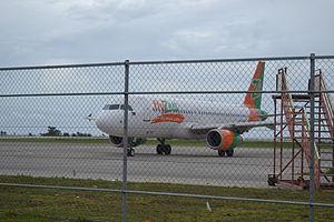 Laguindingan Airport - Image: Zest Airway RP C8997 on Laguindingan International Airport