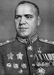 Georgy Zhukov 20th-century Marshal of the Soviet Union