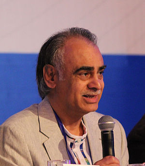Ziauddin Sardar - Sardar at an International Futures Studies Seminar in Quito (Ecuador)