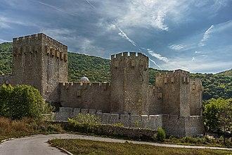 Manasija - Monastery fortifications.