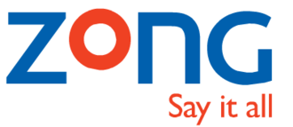 Zong Pakistan - Previous logo of Zong with slogan