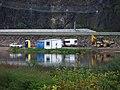 Zvole, výstavba cyklostezky pod Homolí.jpg