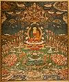 'Amitabha in Sukhavati Paradise', Tibetan, circa 1700, San Antonio Museum of Art.jpg