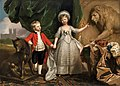 'Portrait of Prince William and his Elder Sister, Princess Sophia' by Benjamin West, 1779.jpg