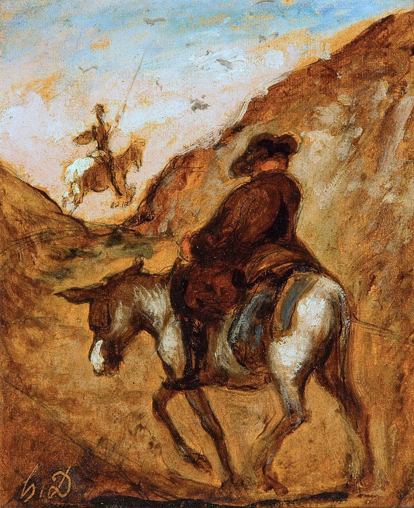 https://upload.wikimedia.org/wikipedia/commons/thumb/4/44/%27Sancho_and_Don_Quixote%27_by_Honor%C3%A9_Daumier.jpg/834px-%27Sancho_and_Don_Quixote%27_by_Honor%C3%A9_Daumier.jpg