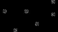 Kemia strukturo de (+) katekino