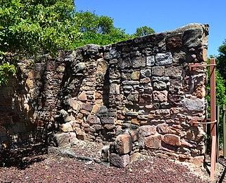 Blaxland, New South Wales - Remains of Pilgrim Inn, c. 1825
