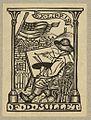 (Bookplate of artist Francis D. Millet) (LOC) (15609992102).jpg