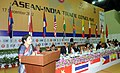 (Smt.) D. Purandeswari addressing the ASEAN- INDIA Trade Conclave organized by Confederation of Indian Industries, at Guwahati. The Chief Minister of Assam Shri Tarun Gogoi, the Minister of State for Tribal Affairs.jpg