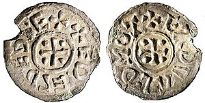 Æthelred II of East Anglia - Coin of Æthelred.