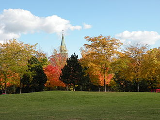 Ahuntsic-Cartierville - Sainte-Madeleine-Sophie-Barat Church / Saint-Maron Cathedral.