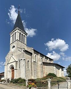 Église St Pierre Châtenay Ain 8.jpg