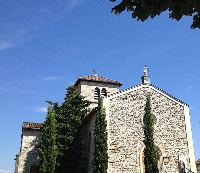 Église de l'Assomption de Charnoz-sur-Ain.